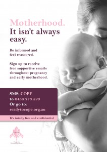 Ready to COPE Postnatal Poster